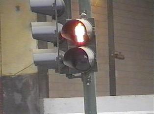 Don't walk traffic signal