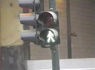 Walk traffic signal