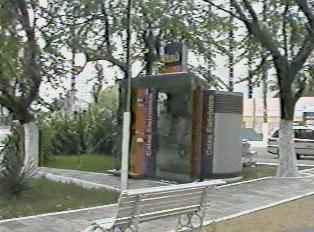 Itaú Bank kiosk