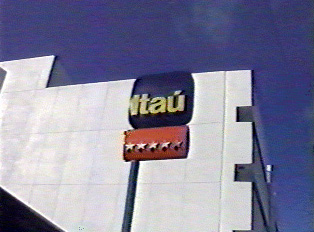 Sign for Itaú Bank