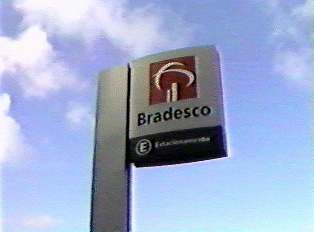 Sign for Bradesco Bank