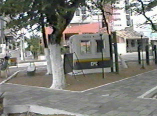 Police booth