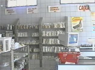 Cash register area
