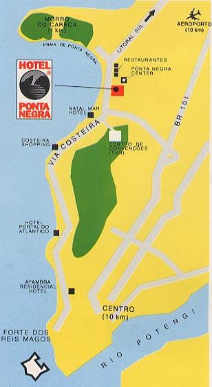 Sample tourist map