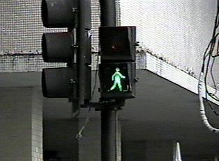 Pedestrian sign: Walk