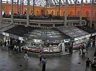 Inside view of the public market