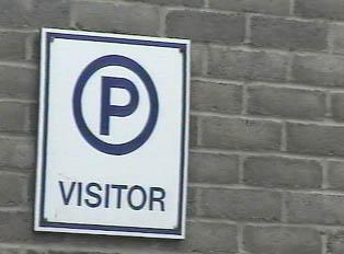 Parking for visitors