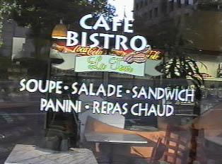 Food served by Cafe Bistro