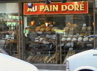 Bread and pastries store