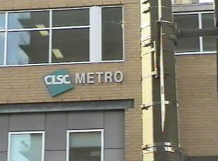 Building with CLSC Metro logo