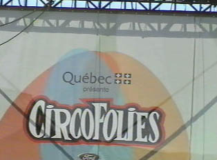 Outdoor circus for children