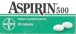 Box of aspirin