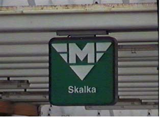 Sign for the subway