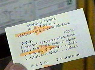 Close-up of ticket