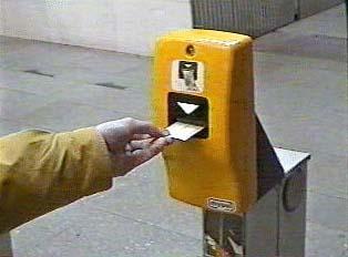 Stamping ticket