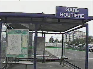 Local bus departure point