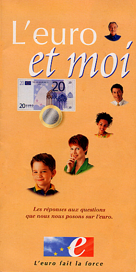 Cover of Euro currency brochure