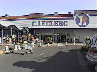 A large supermarket