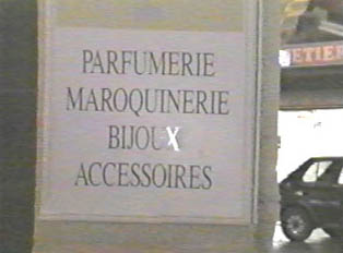 Perfume, leather goods, costume jewelry, and accessories store