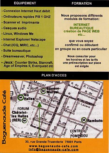 An internet brochure