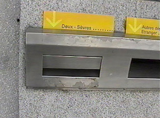 Mailbox for the region of 'Deux-Sevres'