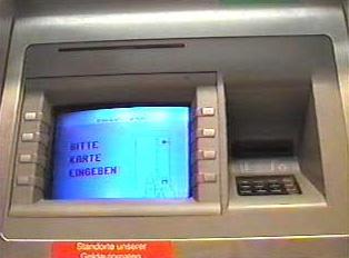ATM screen