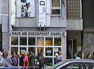 Entrance to Checkpoint Charlie Museum