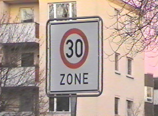 30 kilometer speed limit