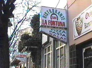 An Italian restaurant