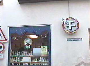 A butcher shop as seen from outside