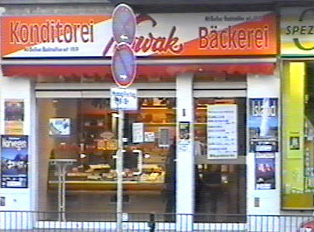 A bakery as seen from outside