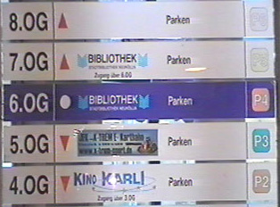 Store listings on each floor