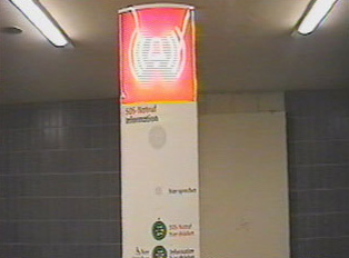 Information and emergency kiosk