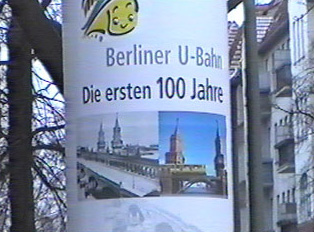100th anniversary sign