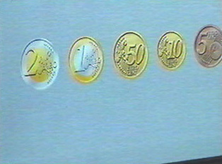 Types of coins the machine accepts