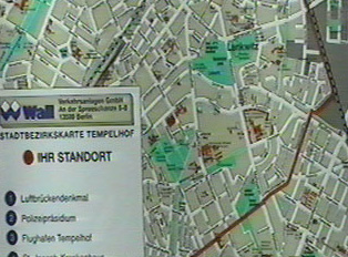 Street maps can be found posted in cities often close to bus or train stations