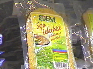 A soy version of liver cheese