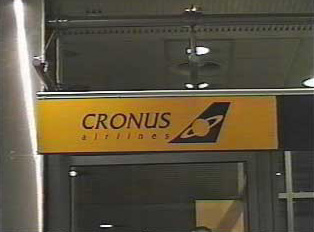 Cronus Airlines gate