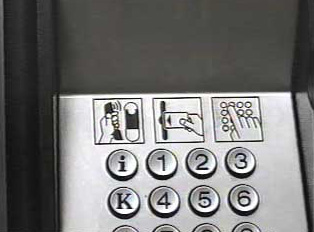 Instructions on how to use a phone card