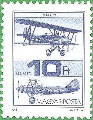10 Forint stamp