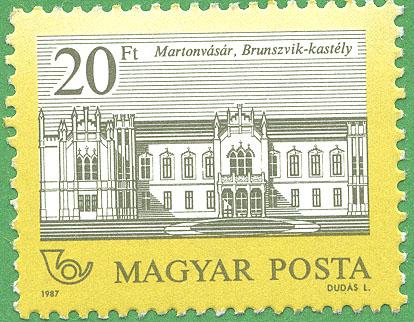 20 Forint stamp