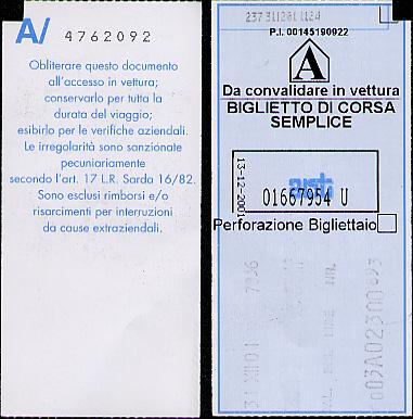 Validated ticket