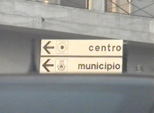 Direction to city center