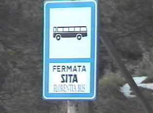 SITA (company) bus stop