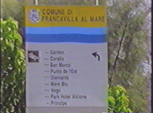 List of hotels in the town of Francavilla