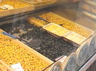 Fresh pasta is sold in a variety of stores