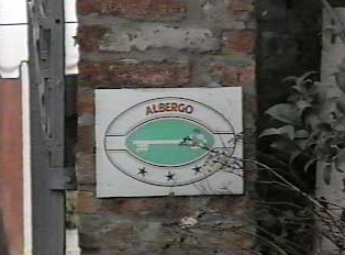 Hotel ranking sign
