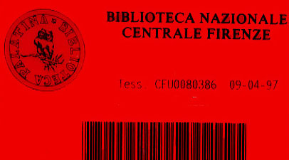 Reader's card from the National Library