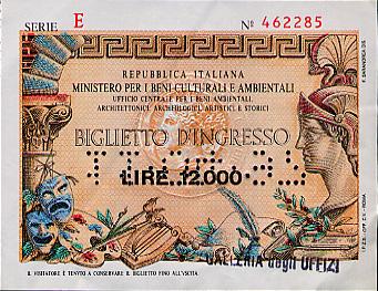 Museum ticket