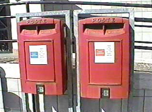 Two separate mailboxes, one for normal mail, the other for priority